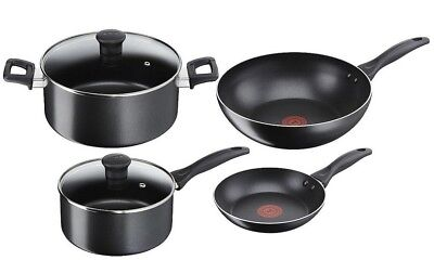 NEW Tefal Easy Care 4 Piece Non-Stick Cookware Set