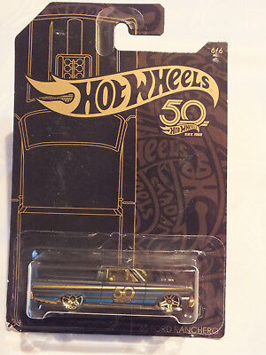 Hot Wheels 50 Jahre Black & Gold Edition - '65 Ford Ranchero - Neu in OVP