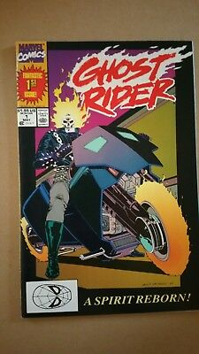Ghost Rider #1 1st Appearance of Dan Ketch, Deathwatch