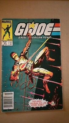 G.I. Joe #21 1st Appearance of Storm Shadow, All Silent Issue