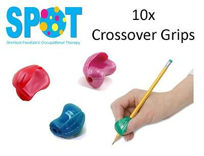 10x Crossover Pencil Grips *HAND WRITING school OT special needs THERAPY *