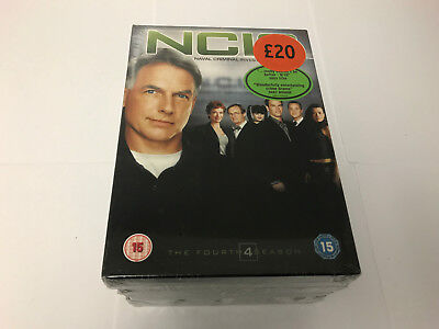 NCIS - The Complete Fourth Season 4 - NEW & SEALED DVD SET N.C.I.S 4th Series