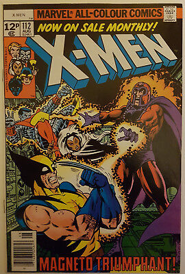 Marvel Comics UNCANNY X-MEN Vol. 1 #112 1978 by John Byrne & Chris Claremont