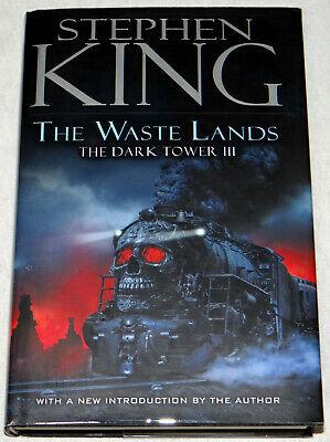 Stephen King The Waste Lands The Dark Tower 3 HC VIKING Illustrated 2nd Print