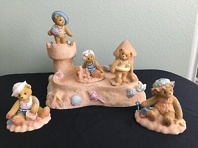 Cherished Teddies on the Beach