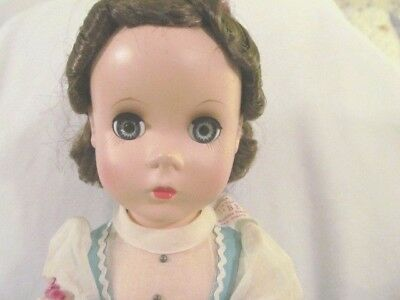 Vintage  Madame Alexander  Little Women BETH Doll Hard Plastic 14""
