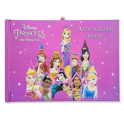 DISNEY Parks AUTOGRAPH and PHOTO Book PRINCESS - WALT DISNEY WORLD (Sealed) NEW