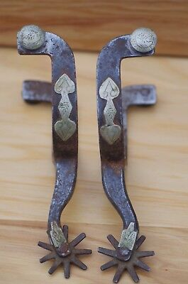 Kb&p ** Silver ** Mounted ** Spurs