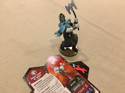 Heroscape - Frost Giant of Morh - Moltenclaw's Invasion Wave 13/D3