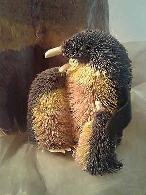 Bristle And Wood Penguin Family Figures