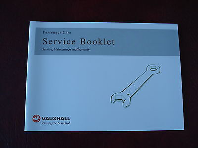 vauxhall service book brand new unused covers all models petrol and diesel<>