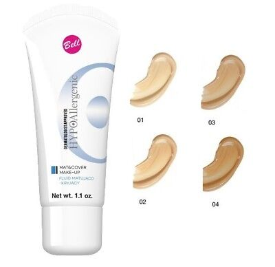 BELL HYPOallergenic MAT & COVER MAKE-UP FOUNDATION MATTIFYING & COVERING