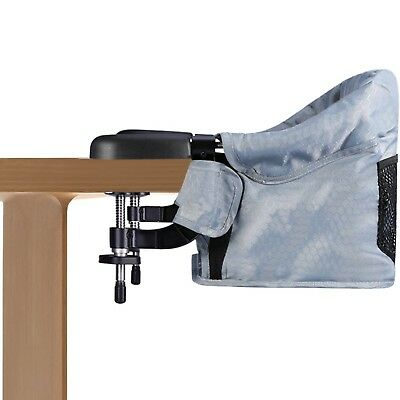 Clip On Table Chair, Steel Construction,High Load-Bearing Safety Design, ... New