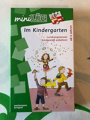 mini LÜK-Set im Kindergarten