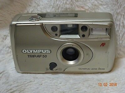 Olympus Trip AF 50 28 MM Film Camera street retro working condition.