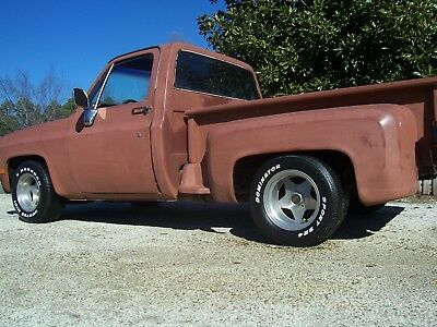 1980 Chevrolet C-10 CUSTOM 1985 CHEVROLET C10 TRUCK SHOP STEP SIDE RAT ROD SQUARE BODY