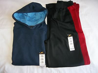 Boy Sweat Pant or Pull over Hoodie Both Size X-Large 18-20 NEW Simply For Sports