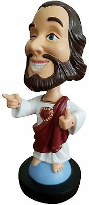 """PZD Collectible Jesus/Buddy Christ Bobblehead 5.5"""" New"""