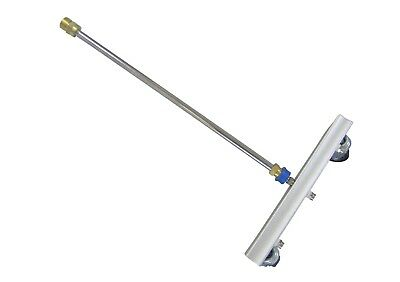 "Karcher HD Compatible Jet Wash 3 Nozzle Water/Broom Attachment 12"" Size 06"