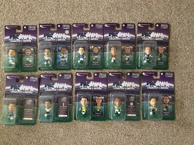 10 X Sealed Corinthian Prostars 02/03 Series 19,20,21 Blister Pack Figures,