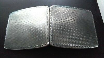 Century Old .925 Solid Sterling Silver Mappin & Webb 1918 Cigarette Case