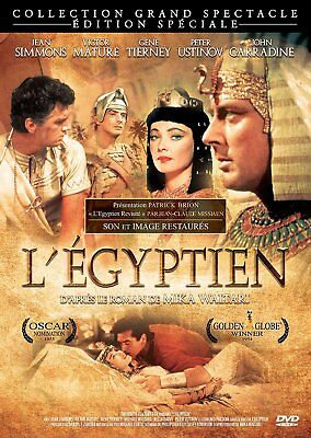 DVD L'Egyptien Michael Curtiz NEUF sous cellophane
