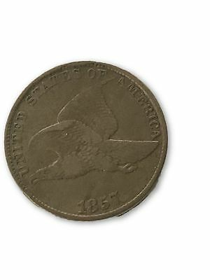 1857 Flying Eagle Small Cent Circulated