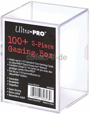 Ultra Pro - 2-Piece Gaming Box - Clear