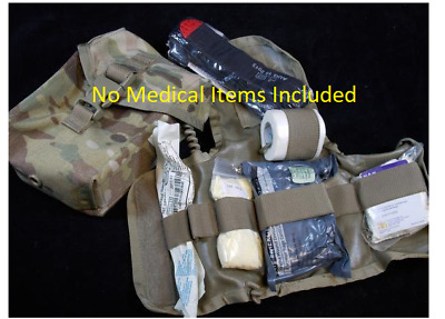 US Military Issue Army SEKRI Multicam OCP MOLLE IFAK Pouch + Insert First Aid