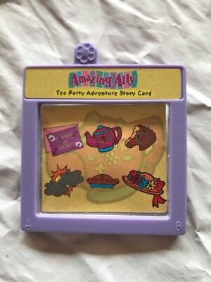 "Amazing Ally & Me 18"" Interactive Doll Book Adventure Story Card Cartridge ."