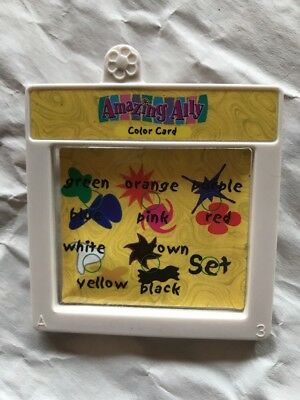 "Amazing Ally Tea Party 18"" Interactive Doll Book Color Story Card Cartridge ."