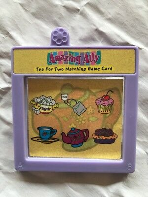 "Amazing Ally Tea Party For Two 18"" Interactive Doll Book Story Card Cartridge ."