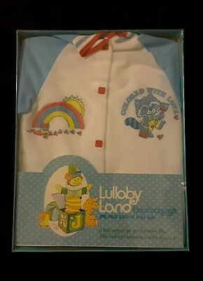 New Vinatge Lullaby land sleeper NEWBORN polyester made in USA 1977