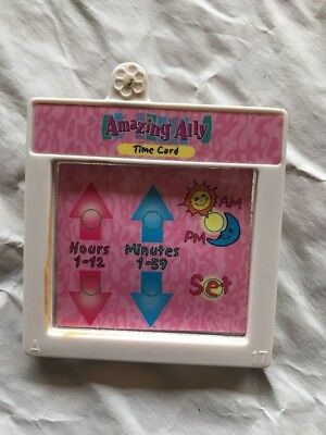 "Amazing Ally Tea Party 18"" Interactive Doll Book Time Story Card Cartridge ."