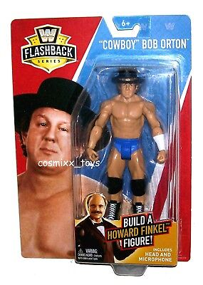 WWE-COWBOY BOB ORTON-Action Figure-Flashback Series-New in Mold