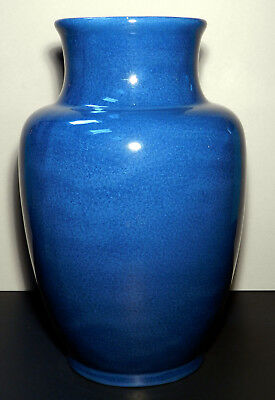 Antique Chinese Monochrome Powder Blue Baluster Vase, Beautiful Glaze, Nice Size