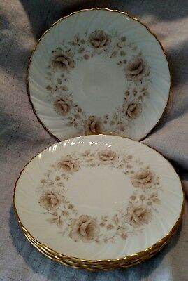 Lenox COQUETTE Beautiful Dinner Plates - Set of 4 - EXCELLENT  USA