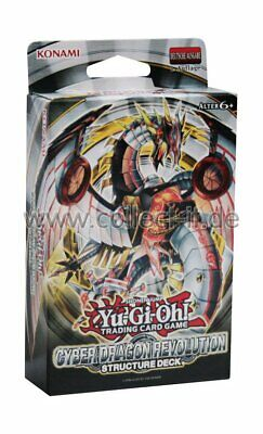 Yugioh - Structure Deck - Cyber Dragon Revolution - 1. Auflage