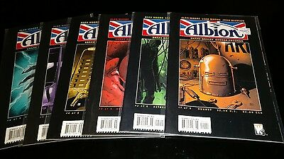 ALBION : COMPLETE 6 ISSUE SERIES by ALAN & LEAH MOORE & JOHN REPPION. WS.2005