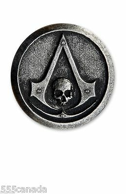 Assassins Creed IV Black Flag Official Metal Pin - Syndicate Rogue Unity Origins