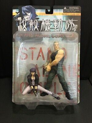 Yamato Ghost In The Shell Stand Alone Complex Motoko & Batou Figure Set