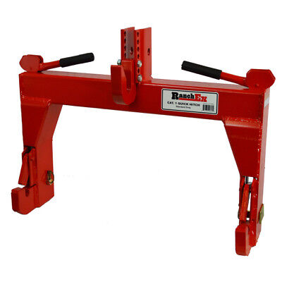 Cat. 1 Quick Hitch Adjustable Top Bracket - RanchEx