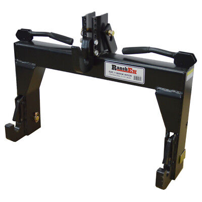 Quick Hitch Cat 1, Adjustable Top Bracket, For 3-point Implements - RanchEx
