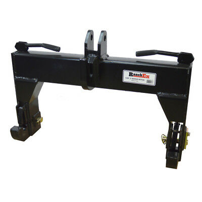 Quick Hitch Cat. 2, Heavy Duty, For 3-Point Implements - RanchEx