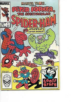 Marvel Comics Marvel Tails Peter Porker Spider-Ham #1 Ex Condition