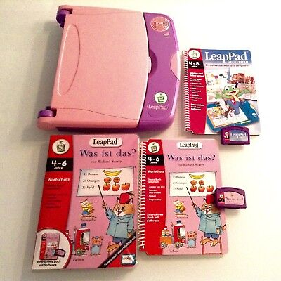 Leap Pad Learning System + Writing Lernsystem für Kinder Leap Frog +2 Bücher