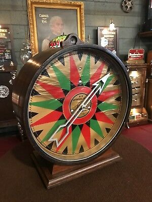 "1936 M-R Advertising System Electric Carny Wheel Trade Stimulator ""WATCH VIDEO"""