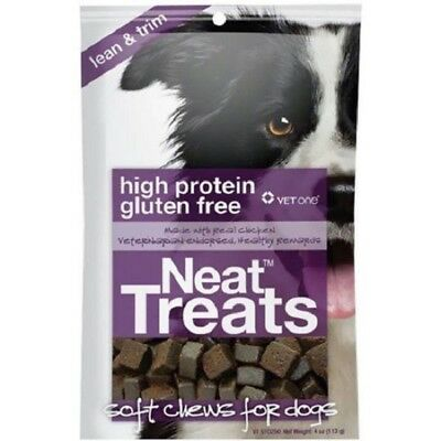 Vet One Pet Neat Treats Soft Chews For Dogs High Protein Made in the USA