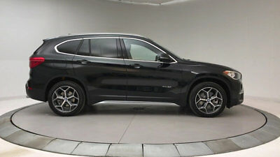 2018 BMW X1 xDrive28i Sports Activity Vehicle xDrive28i Sports Activity Vehicle New 4 dr Automatic Gasoline 2.0L 4 Cyl Black S