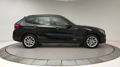 2015 BMW X1 xDrive28i X1 xDrive28i Low Miles 4 dr Automatic Gasoline 2.0L 4 Cyl Jet Black